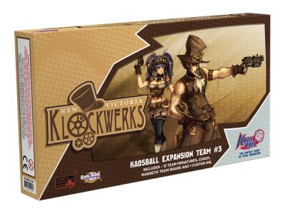 Kaosball: Team – New Victoria Klockwerks