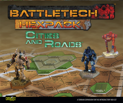 Battletech HexPack: Cities and Roads