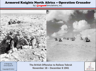 Armored Knights North Africa: Operation Crusader