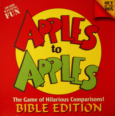 Apples to Apples: Bible Edition