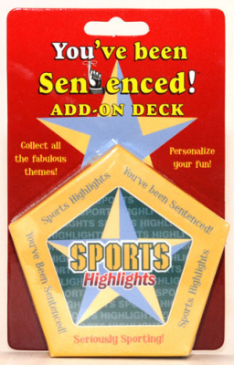 You've Been Sentenced Add-On Deck: Sports Highlights
