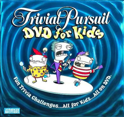 Trivial Pursuit for Kids DVD Game