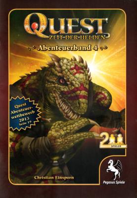 Quest: Zeit der Helden – Abenteuerband 4: Die Augen der Echse