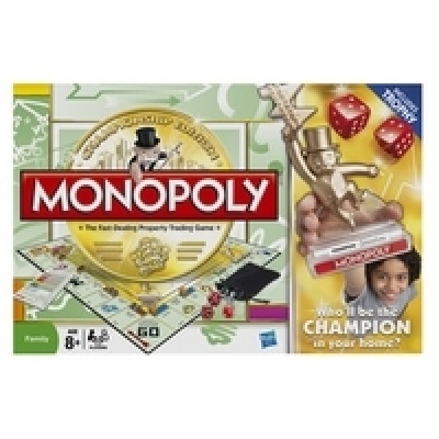 Monopoly: Family Game Night Championship Edition