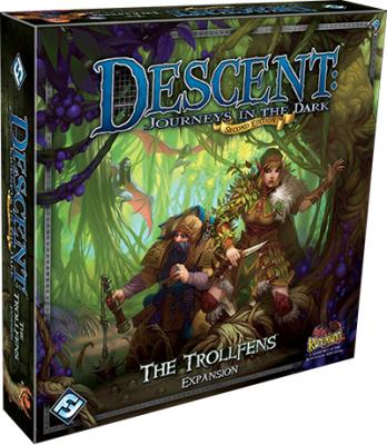 Descent: Die Reise ins Dunkel (Second Edition) - Die Trollsümpfe