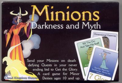 Minions: Darkness & Myth