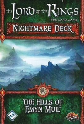 The Lord of the Rings: The Card Game - Nightmare Deck: The Hills of Emyn Muil