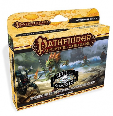 Pathfinder Adventure Card Game: Skull & Shackles – Raiders of the Fever Sea Adventure Deck