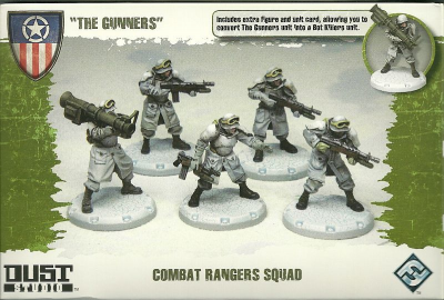 "Dust Tactics: Combat Rangers Squad - ""The Gunners"""