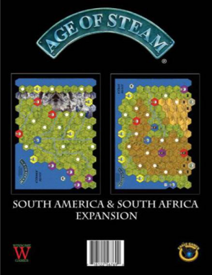Age of Steam: South America / South Africa
