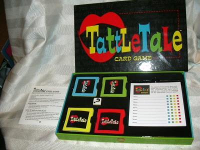 Tattletale Card Game