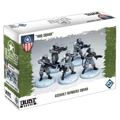 """Dust Tactics: Assault Rangers Squad - """"BBQ Squad"""""""