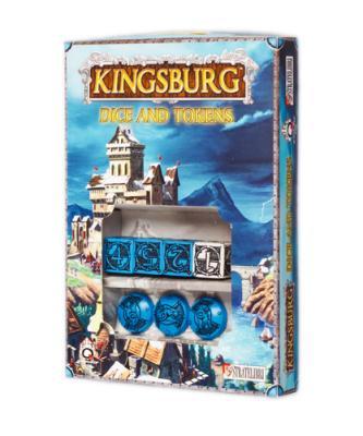Kingsburg: Blue Dice, Token, and Power Set
