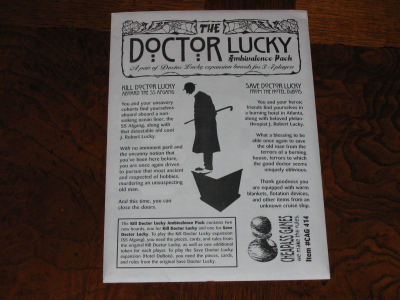 The Doctor Lucky Ambivalence Pack