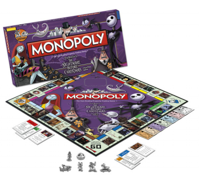 Monopoly: Nightmare Before Christmas Collector's Edition