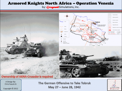 Armored Knights North Africa: Operation Venezia