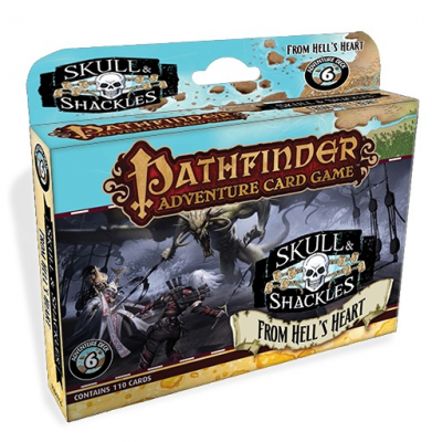 Pathfinder Adventure Card Game: Skull & Shackles – The Price of Infamy Adventure Deck