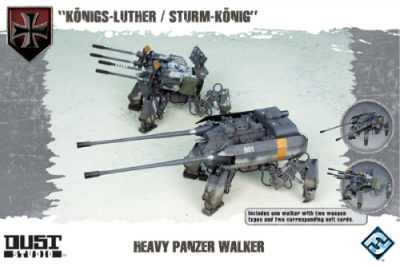 "Dust Tactics: Heavy Panzer Walker - ""Königs-Luther / Sturm-König"""