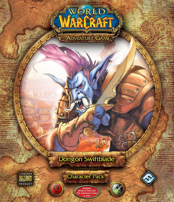 World of Warcraft: The Adventure Game; Dongon Swiftblade Character Pack