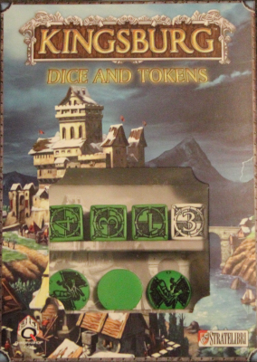 Kingsburg: Green Dice, Token, and Power Set