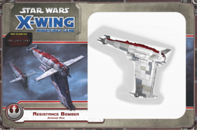 Star Wars: X-Wing Miniatures Game – Resistance Bomber
