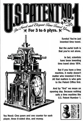 US Patent Number 1