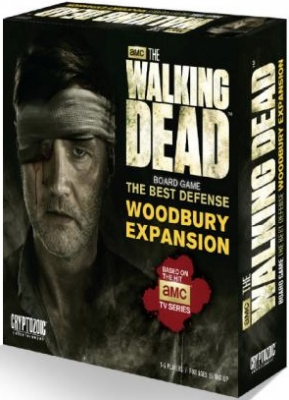The Walking Dead Board Game: The Best Defense – Woodbury Expansion