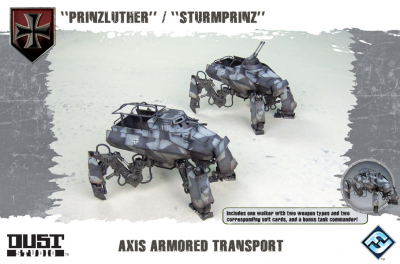 "Dust Tactics: Axis Armored Transport - ""Prinzluther / Sturmprinz"""