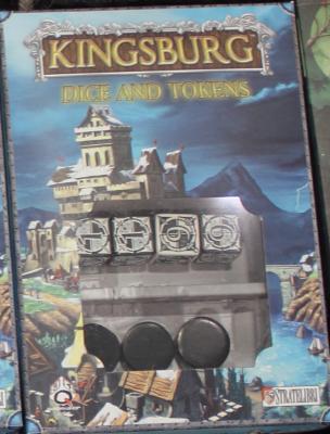 Kingsburg: Black Dice, Token, and Power Set