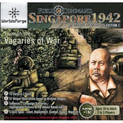 Field Command: Singapore 1942 - Cards Expansion