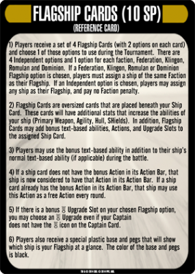 Star Trek: Attack Wing – Flagship Cards Resource