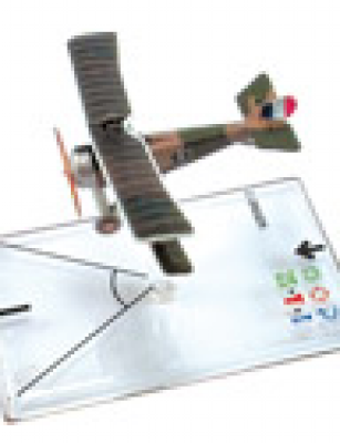 Wings of War: WW1 Airplane Pack - Nieuport 17 (Nungesser)