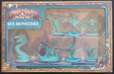 Rum & Bones: Sea Monsters