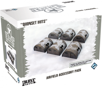 Dust Tactics: Airfield Accessory Pack