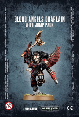 Warhammer 40,000: Blood Angels - Chaplain with Jump Pack