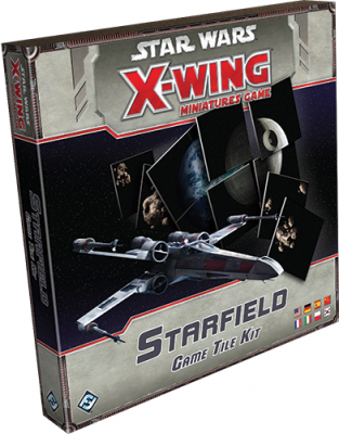 Star Wars: X-Wing Miniatures Game - Starfield Game Tile Kit