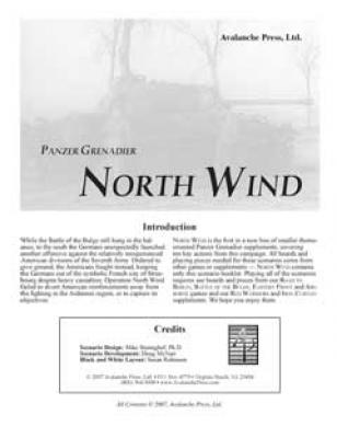 Panzer Grenadier: North Wind
