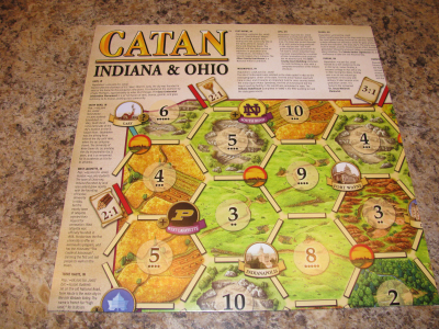 Catan Geographies: Indiana & Ohio