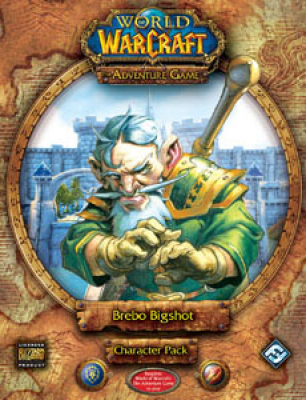 World of Warcraft: The Adventure Game; Brebo Bigshot Character Pack