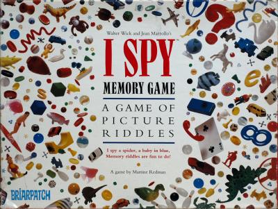 I Spy Memory Game