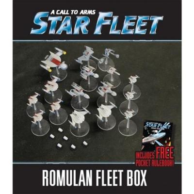 A Call To Arms: Star Fleet – Romulan Fleet Box