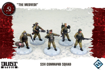 "Dust Tactics: SSU Command Squad - ""The Medvedi"""
