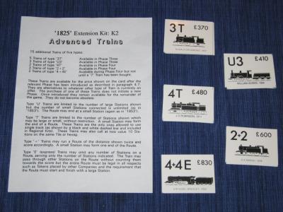 1825 Extension Kit K2: Advanced Trains