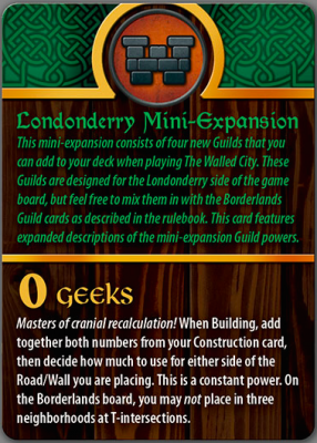 The Walled City: Londonderry Mini-Expansion