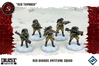"Dust Tactics: Red Guards Anti-Tank Squad - ""Red Thunder"""