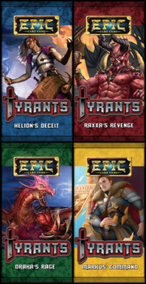 Epic Card Game: Tyrants - Helion's Deceit