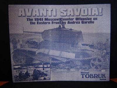 ATS: Avanti Savoia!