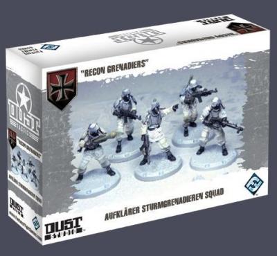 "Dust Tactics: Aufklärer Sturmgrenadieren Squad - ""Recon Grenadiers"""