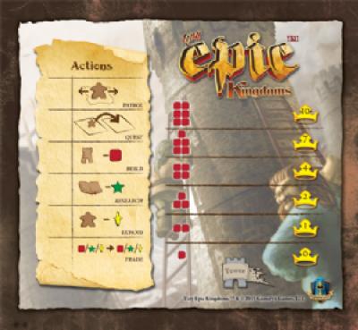 Tiny Epic Kingdoms: Game Mat