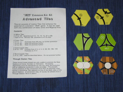 1825 Extension Kit K6: Advanced Tiles